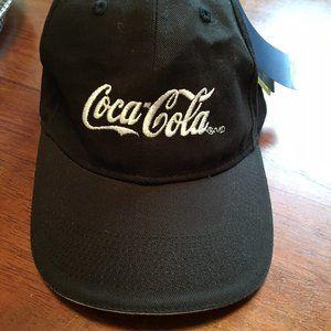 Coca-Cola logo baseball cap NWT adjustable fits al